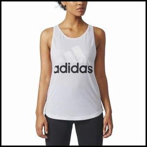 aAidas Athletics Linear Logo Tank